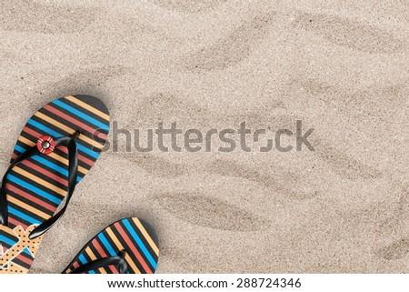 Summer, Beach, Beach Ball. - stock photo