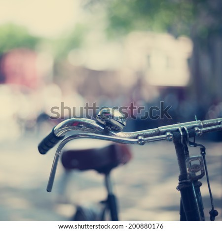 Summer Bicycle  - stock photo