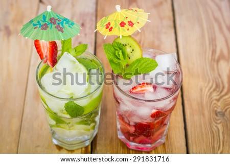 Summer drinks  - stock photo
