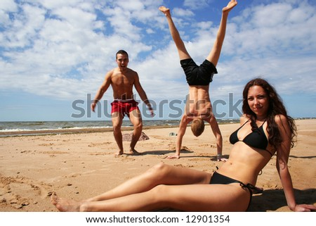 summer fun - stock photo