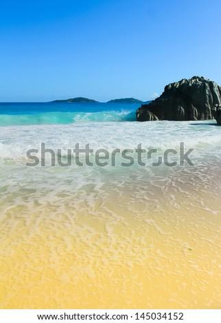 Summer Getaway Shore - stock photo