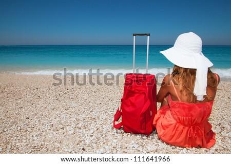 Summer holidays - stock photo