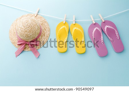 summer image - stock photo