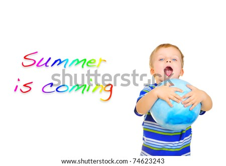 Summer is coming - stock photo