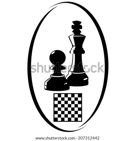 Summer kinds of sports. Illustration on a sports theme. Chess