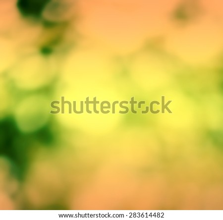 Summer Natural green blurred background. Blurred nature background with Bright Sunlight. Spring Background with selective focus - stock photo