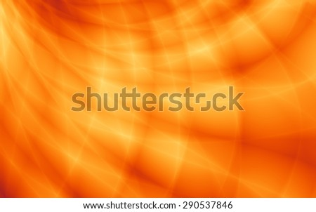 Summer orange pattern wavy curve web background - stock photo