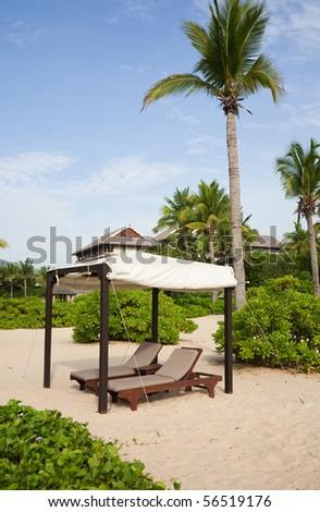 Summer resort - stock photo