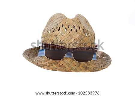 summer vacation fashion accessories - stock photo