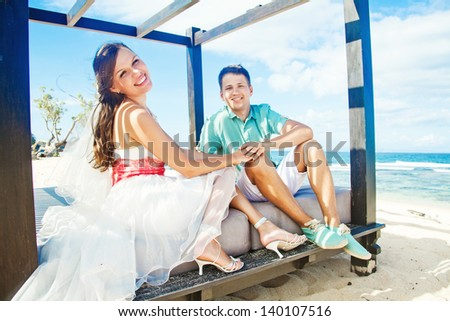 Summer wedding fashion