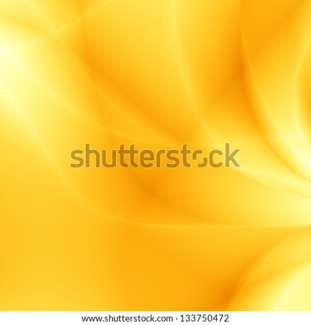 Summer yellow unusual abstract amber web page wallpaper background - stock photo
