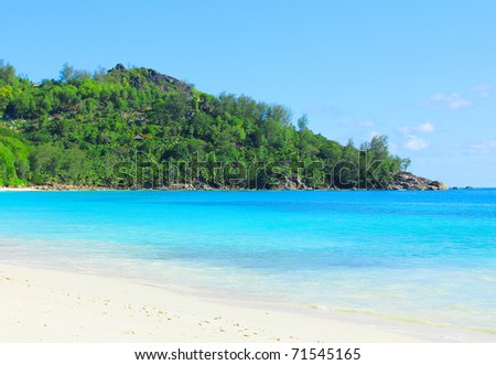 Summertime Tranquility Dream - stock photo