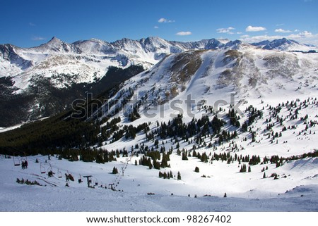 Summit County, Colorado - stock photo