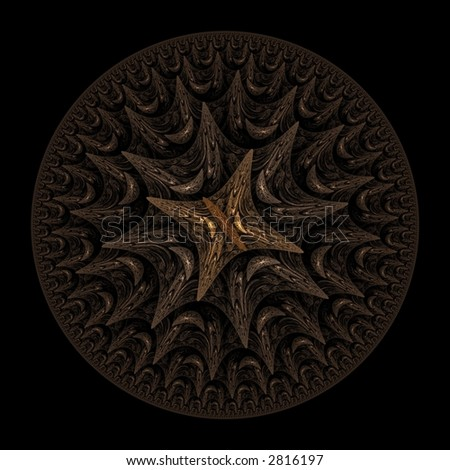 Sun Dial / Man hole / SF coin Fractal