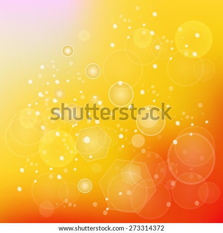Sun Natural Background. Sunny Abstract Summer Background.