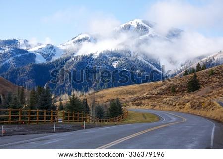 Sun Valley, Idaho - stock photo