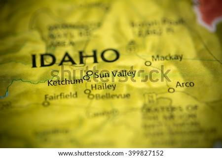 Sun Valley. Idaho. USA - stock photo