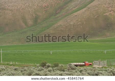 Sun Valley Ranch - stock photo