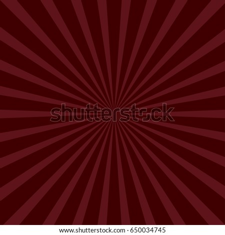 sunburst starburst with ray of light bordo color template background flat design