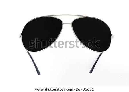 sunglasses isolated 2 - stock photo