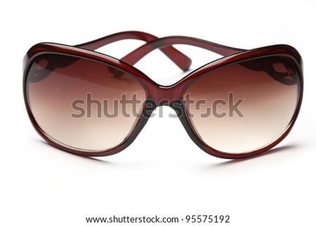 Sunglasses isolated - stock photo