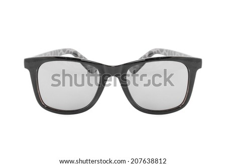 Sunglasses isolated on white background