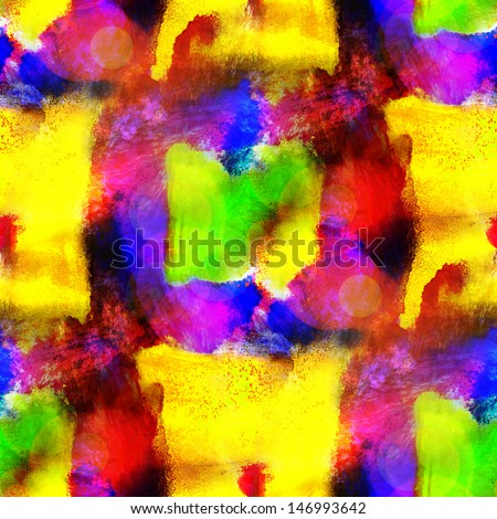 sunlight art purple, yellow seamless texture, background watercolor abstract brush wallpaper