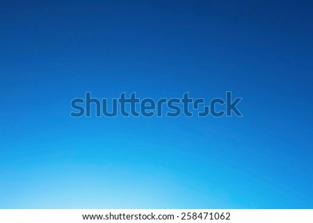 Sunny blue sky - stock photo