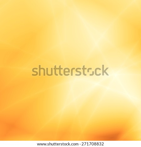 Sunny bright abstract yellow template design - stock photo