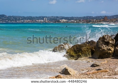 Sunny day in the south of Spain - stock photo