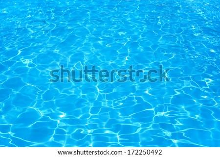 Sunny day resort water ripple.  - stock photo