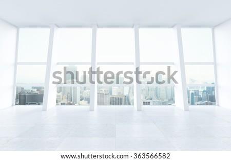 big window large window into white office stock photo 143411113 shutterstock