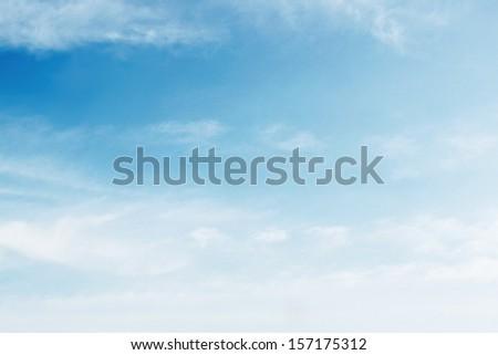 Sunny sky - stock photo