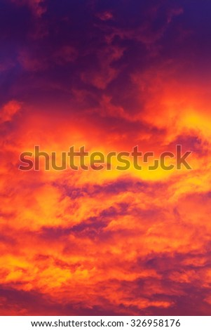 Sunrise Clouds