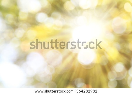 Sunrise or sun up is the instant at which the upper edge of the Sun appears over the eastern horizon in the morning - stock photo
