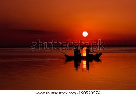 sunrise tour - stock photo