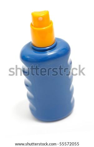 Sunscreen - stock photo