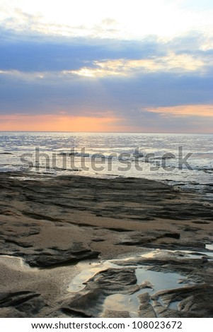 Sunset at Pictured Rocks National Lakeshore, Michigan