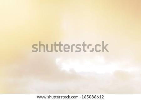 Sunset sky. - stock photo