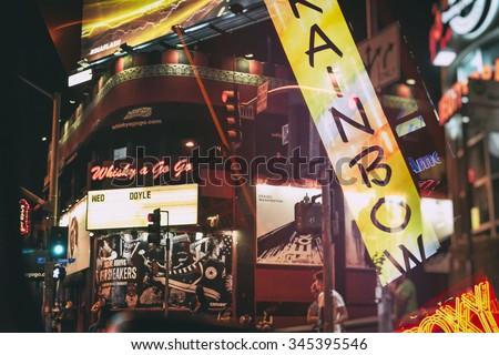 Sunset Strip Collage - stock photo