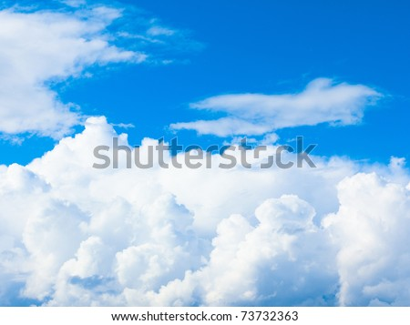 Sunshine View Skies - stock photo