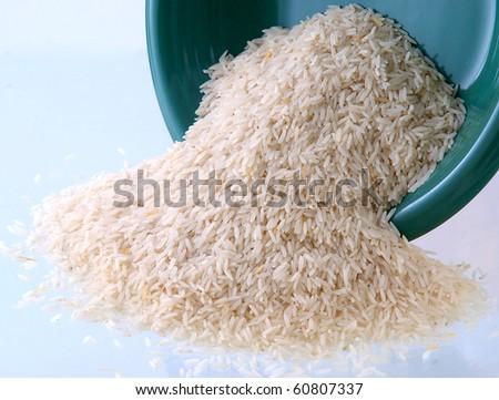 Super Basmati Rice - stock photo