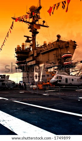 Super Carrier - stock photo