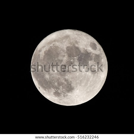 super full Moon the 14.11.2016