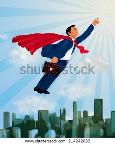 Super Performer - stock photo