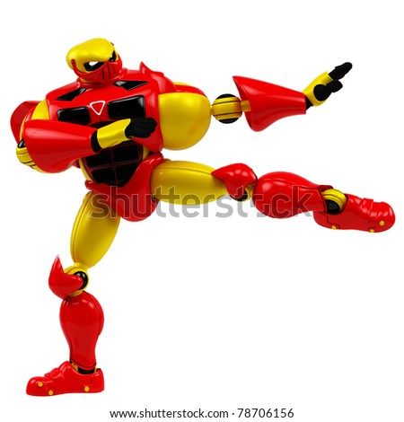 super robot karate