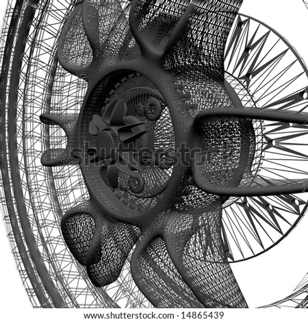 Super Wheel - stock photo