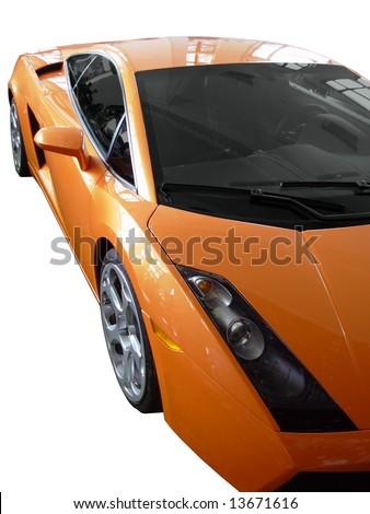 Supercar - stock photo