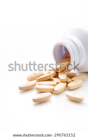 Supplement and Vitamins - stock photo