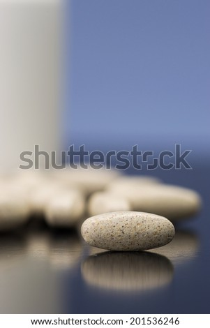 Supplements, vitamins - stock photo